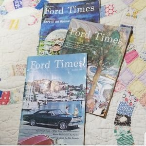 Vintage 1965-67 Ford Magazines